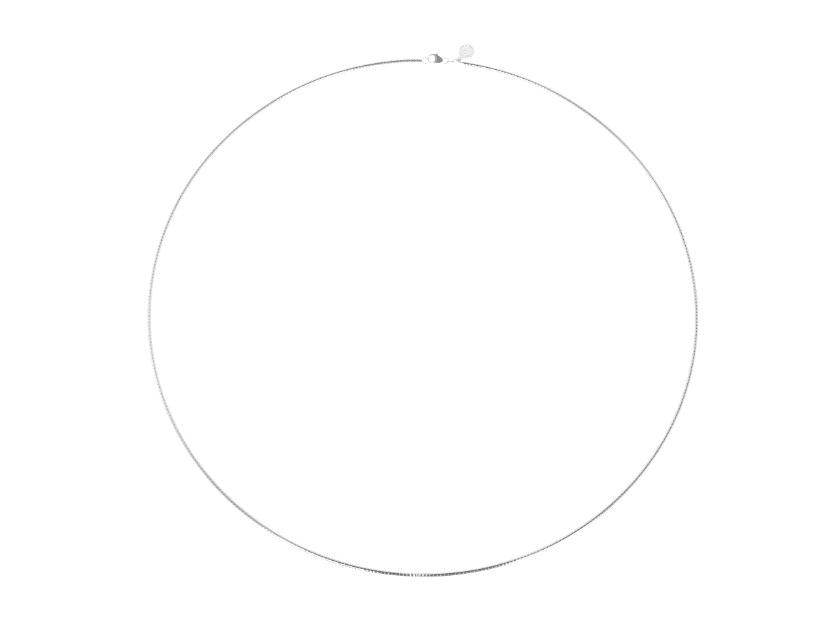 Collier Maille Omega Ronde -