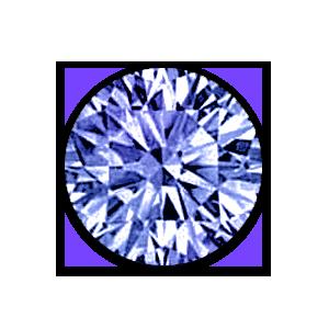 Saphir bleuet