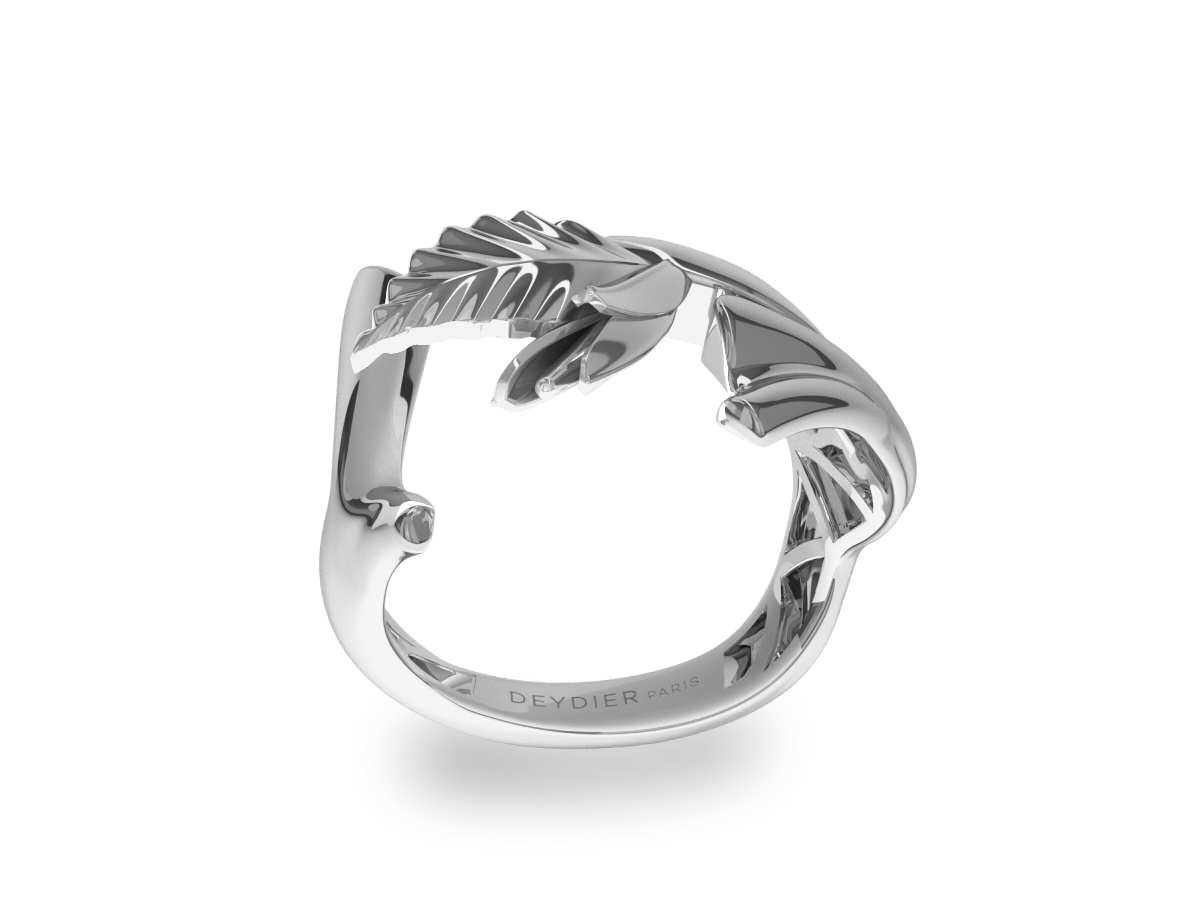 Bague Let's Baby Or Blanc -